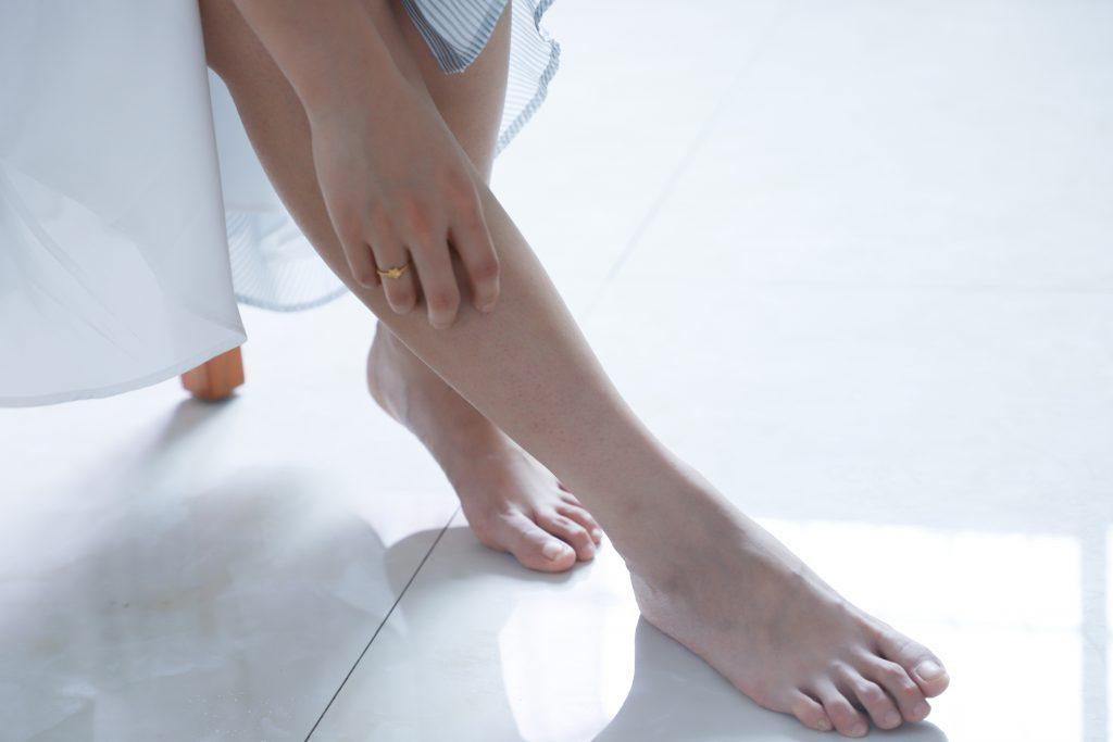 starostlivosť o pokožku nôh
