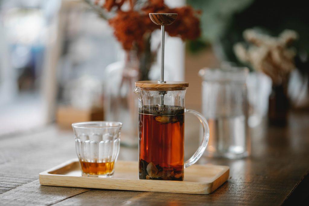 príprava čaju