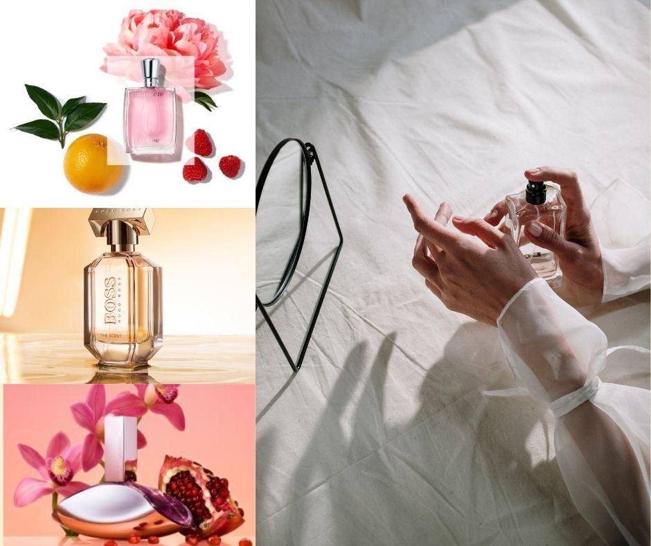 tri jarné parfumovane vone
