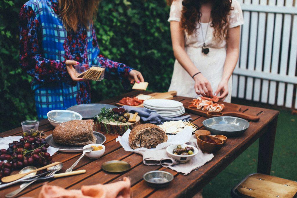 piknik vonku