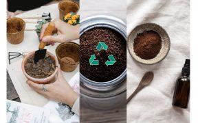 zvyšky z mletej kávy