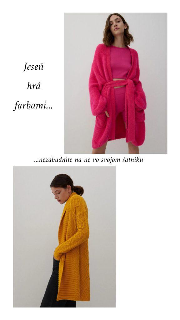 Farebnosť v jesennom šatníku