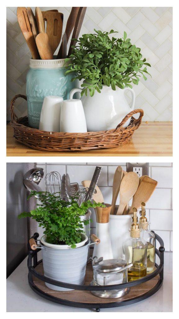 podnos v kuchyni