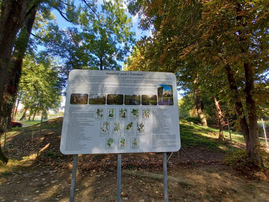 historický park v Trebišove